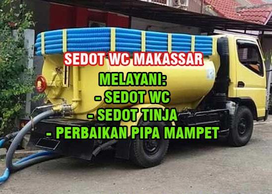 Sedot WC Makassar Harga Murah Bergaransi HP: 081268255873